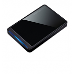 1TB Buffalo MiniStation Stealth USB 2.0 Portable Hard Drive (HD-PCT1TU2/BK)