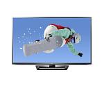"60"" LG 60PM6700 1080p 600Hz 3D Plasma Smart HDTV"