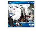 500GB PlayStation 3 Assassin's Creed III Bundle with 1-Month PlayStation Plus & Assassin's Creed III Game