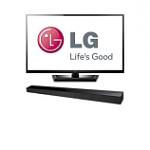 """55"""" LG 55LM4700 1080p 120Hz 3D LED HDTV w/ Soundbar + 4 Pairs of 3D Glasses"""