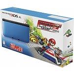 Nintendo 3DS XL Console with Mario Kart 7 Bundle (Blue/Black)
