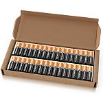 34-count Duracell Coppertop Duralock Batteries (AA or AAA)