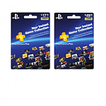 Sony PlayStation Plus Subscription: 12-Month Subscription Card $40, 3-Month Subscription Card
