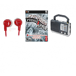 Free after Rebate: RollerCoaster Tycoon 3 Platinum (PC) Free after $15 Rebate, Sony 3.5mm Earphones in Red (refurbished)