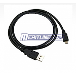 3.3ft. USB A to Micro USB M/M Data Cable for Cell Phones (2-pack)