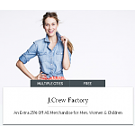 J. Crew Factory Stacking Online or In-store Coupon: