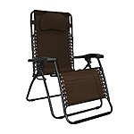Caravan Sports Infinity Oversized Zero Gravity Chair, Brown $46.47 fs @ amazon