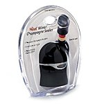 Metrokane Champagne and Wine Sealer, Velvet Black$3.50 add on item @ amazon / OOS but orderable! Usually ships within 3 to 5 weeks.