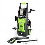 GreenWorks GW1702 1,700 PSI 1.2 GPM 13AMP Electric Pressure Washer with Hose Reel $89.00 fs @ amazon (1500 PSI $79.00)