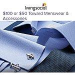 $50 Charles Tyrwhitt Menswear & Accessories Voucher  $21.25