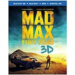 Mad Max: Fury Road (Blu-ray 3D + Blu-ray + DVD +UltraViolet) $27.99 at amazon/best buy