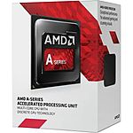 AMD FM2 A4 7300 Dual Core 3.8/ 4 Ghz APU CPU Processor With Integrated Graphics @ Fry's for $34 After Promo Code + FS