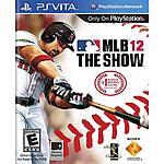MLB 12: The Show (PS Vita) $3.99 + Free store pick up at Walmart
