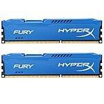 Kingston HyperX FURY 16GB Kit (2x8GB) 1866MHz DDR3 CL10 DIMM - Blue (HX318C10FK2/16) $78.99 + Free shipping (Amazon)