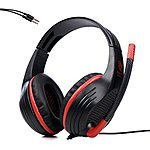 SADES SA-809 Wired PC/Computer/Tablet/Laptop Gaming Stereo Headphone w/ Microphone - $12 AC @ Amazon