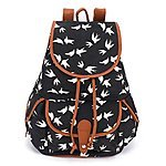 BESTOPE Portable Canvas Backpack for $14.39AC @Amazon