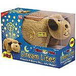 Walmart: Dream Lites Pillow Pet Stuffed Animal Snuggly Puppy Night Light $4.88 Clearance