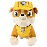 Paw Patrol Deluxe Lights & Sounds Real Talking Rubble Plush  $12.60 or less
