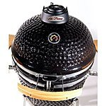 "Cal Flame BBQ15K21 Kamado Charcoal Barbecue Grill and Smoker, 21"", Black $652.92 Fs Amazon"