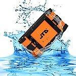 JTD ® [Waterproof Speaker] Armor Portable Bluetooth Speaker  $32.99 AC @ J-Tech Digital @amazon
