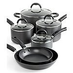 Martha Stewart Collection Hard Anodized 10 Piece Cookware Set - $51 at Macys