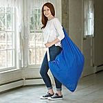 """Heavy Duty, 30"""" X 40"""" Backpack Laundry Bag, Commercial Grade $7.49 + Free Shipping"""