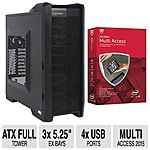 Ultra Rogue M925 ATX Full Tower Gaming Case $20 after $90 Rebate w/ MCAFEE Multi-Access + S/H