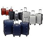Coleman 3PC Hardside Luggage Sets- 4 Colors $99.99 + s/h Woot