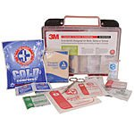 3M 169 Piece Medical Emergency First Aid Kit for Work, Home, School, Car or Boat $18.99 Ebay