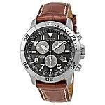 Citizen Men's BL5250-02L Titanium Eco-Drive Watch with Leather Band $169.99 Ebay