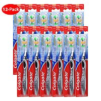 Shnoop Deal: 12 Pack - Colgate MaxFresh Full Head Toothbrush with Tongue Freshener (Choice of Soft or Medium) $13.99 f/s
