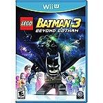 LEGO Batman 3: Beyond Gotham - Wii U - $14.99 w/ Free Prime Shipping