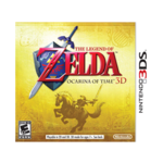 The Legend of Zelda: Windwaker HD Wii U, Zelda: Ocarina of Time 3D, Pikmin 3