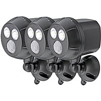 BuyDig Deal: 3-Pack Mr. Beams 300-Lumen Wireless LED Spotlight w/ Motion Sensor