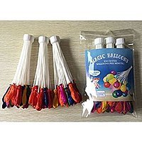 Amazon Deal: Magic Water Balloons Quick Fill 100 Balloons in Under 1 Minute No Tie $4.95 Free Shipping via Discount Deals on Amazon.