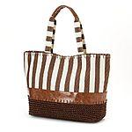 Croft & Barrow® Vertical Stripe Tote $23.60 + ship @kohls.com