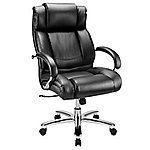 Excellent Chair - WorkPro® 15000 Series Big & Tall High-Back Chair, Black/Silver 209.99