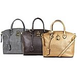 London Fog Brixton Small or Large Dome Satchel-$36.97
