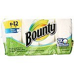 Bounty Select-A-Size Paper Towels 8 Giant Rolls - $9.99 Add-on @ Amazon