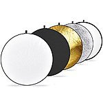 Neewer 43-inch 5-in-1 Collapsible Light Reflector with Bag, $14.50 AC + FS w/ Prime