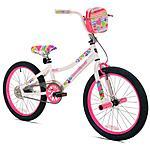 """20"""" Kent Girls' Sweetheart Bike $59 at Walmart (Free Pickup)"""