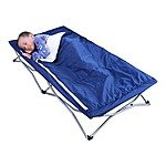 Regalo My Cot Deluxe with Sleeping Bag, Blue $26.99 + $5 S/H @ Kids-Woot