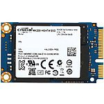 Mushkin ECO2 120GB SSD + 2TB WD Black HDD Desktop Hard Drive $155, Crucial MX200 mSATA 250GB Internal SSD $93 @Newegg