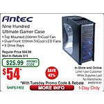 Antec Nine Hundred Mid Tower Case $54AR @Frys w/emailed code (8/11 16GB (2x 8) DDR3 1866 Patriot Viper 3 SDRAM Memory Kit $80AR