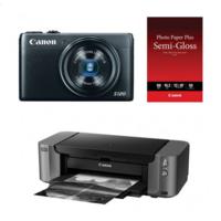 Focus Camera Deal: Canon S120 12.1MP 24mm f/1.8 Digital Camera + Pixma Pro-10 Printer Bundle