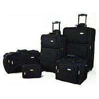 BuyDig Deal: 5-Piece Samsonite Luggage Travel Set (Various Colors)
