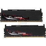 $80 +FS G.SKILL Sniper Series 16GB (2 x 8GB) 240-Pin DDR3 SDRAM DDR3 2400 (PC3 19200) Desktop Memory Model F3-2400C11D-16GSR