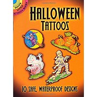 Amazon Deal: Amazon -- Fake for kids -- Halloween Tattoos (Dover Tattoos)   $1.35 with free prime shipping, get  $1 video credit with no rush shipping for Prime members