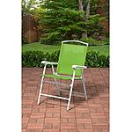 Outdoor Folding Sling Chair, Green $15  free ship over $35