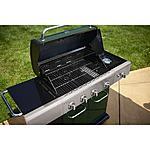 Kenmore 4-Burner LP Green Gas Grill w/ Searing Burner & Side Burner $240 @ Sears